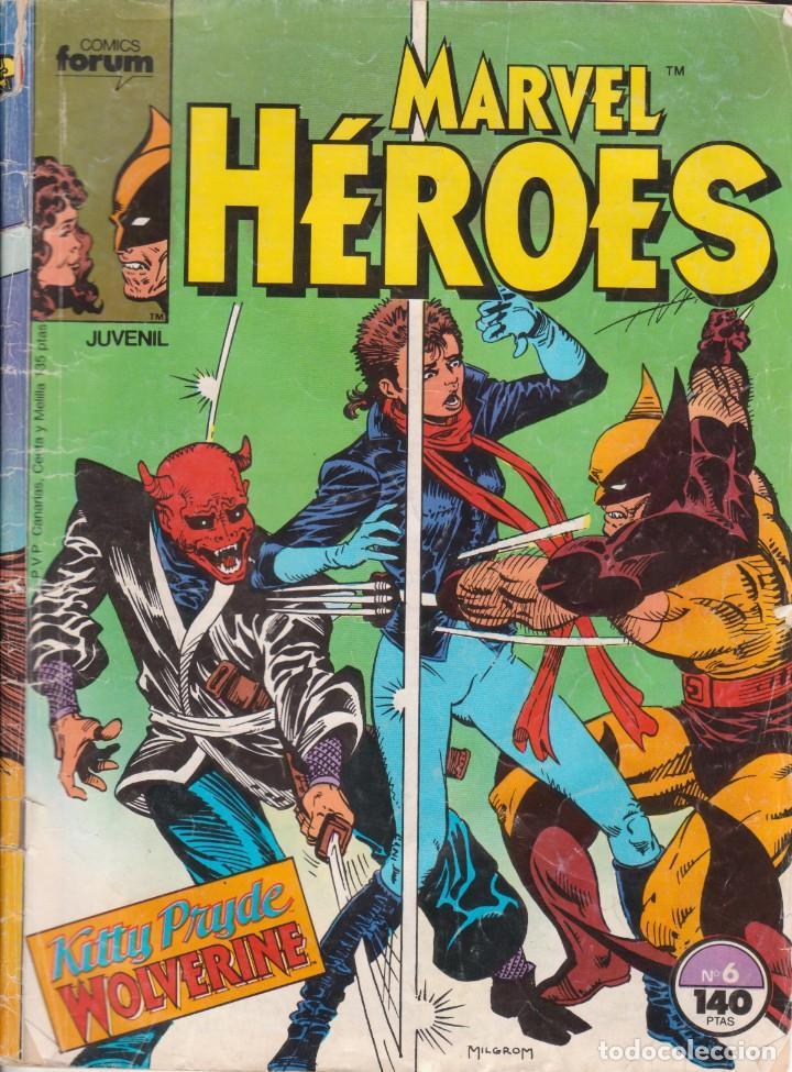 CÓMIC ` MARVEL HEROES ´ Nº 6 ED ED.PLANETA / FORUM (Tebeos y Comics - Forum - Otros Forum)