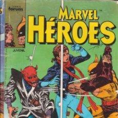 Cómics: CÓMIC ` MARVEL HEROES ´ Nº 6 ED ED.PLANETA / FORUM. Lote 203938377