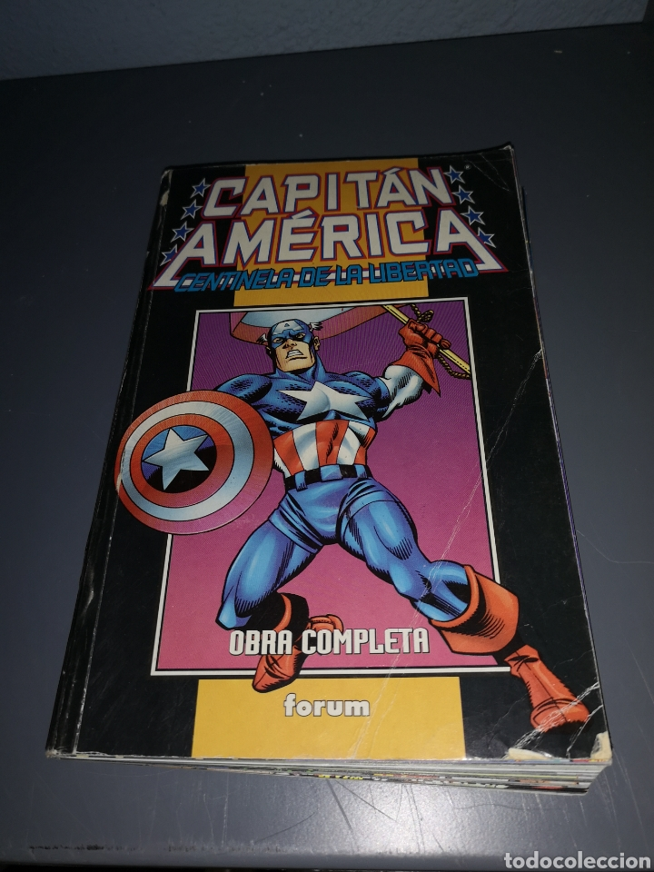 EST 12. A40. COMIC DEL CAPITÁN AMÉRICA. CENTINELA DE LA LIBERTAD. FORUM (Tebeos y Comics - Forum - Capitán América)
