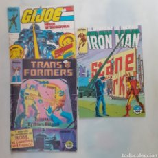 Cómics: 3 CÓMICS. G.I.JOE, TRANSFORMERS, IRON MAN. FORUM PLANETA. Lote 204003477