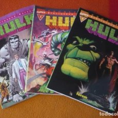 Cómics: HULK NºS 1, 2 Y 3 BIBLIOTECA MARVEL ( DOUG MOENCH ) ¡BUEN ESTADO! FORUM MARVEL. Lote 204118491