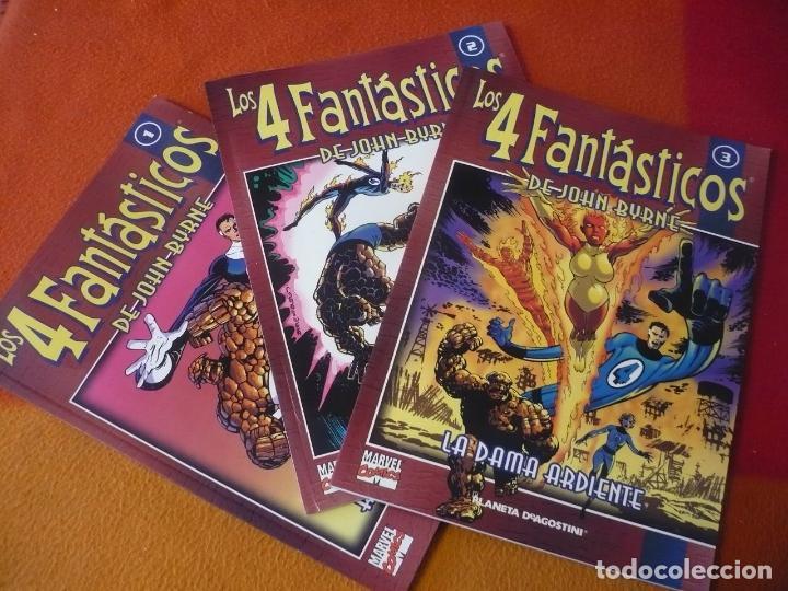LOS 4 FANTASTICOS COLECCIONABLE NºS 1 , 2 Y 3 ( JOHN BYRNE ) ¡MUY BUEN ESTADO! FORUM MARVEL (Tebeos y Comics - Forum - Hulk)