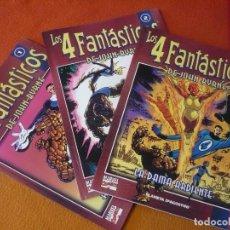 Cómics: LOS 4 FANTASTICOS COLECCIONABLE NºS 1 , 2 Y 3 ( JOHN BYRNE ) ¡MUY BUEN ESTADO! FORUM MARVEL. Lote 204118620