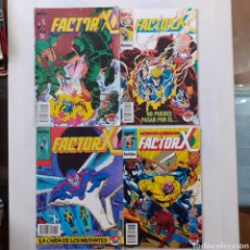 Cómics: 4 MARVEL COMICS. FACTOR X. COMICS FORUM. N° 18, 22, 68 Y 74.. Lote 204157383