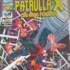 Cómics: PATRULLA X LOS AÑOS PERDIDOS 19 / PILA 3. Lote 204179566