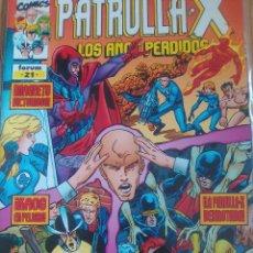 Cómics: PATRULLA X LOS AÑOS PERDIDOS 21 / PILA 3. Lote 204180786
