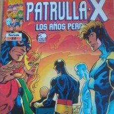 Cómics: PATRULLA X LOS AÑOS PERDIDOS 22 / PILA 3. Lote 204180886