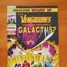 Cómics: WHAT IF Nº 50 - LOS VENGADORES, GALACTUS - MARVEL - FORUM (7M). Lote 204237282