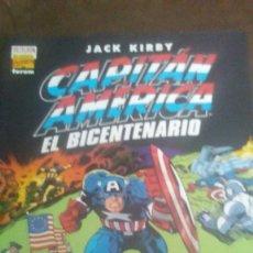 Cómics: CAPITAN AMERICA - EL BICENTENARIO - JACK KIRBY. Lote 204277278
