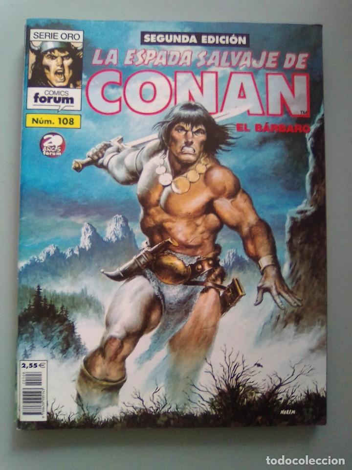 LA ESPADA SALVAJE DE CONAN 108 DE KIOSCO / SEV2020 (Tebeos y Comics - Forum - Conan)