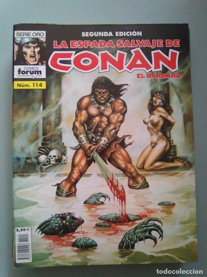 LA ESPADA SALVAJE DE CONAN 114 / SEV2020 (Tebeos y Comics - Forum - Conan)