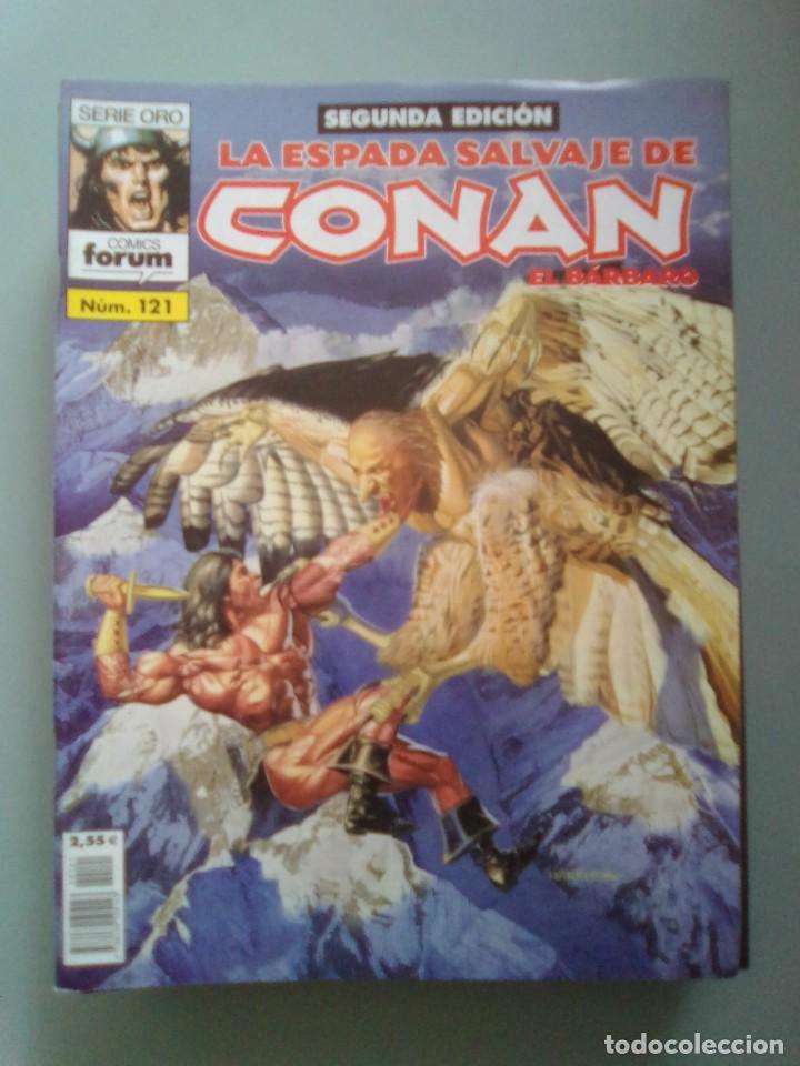 LA ESPADA SALVAJE DE CONAN 121 / SEV2020 (Tebeos y Comics - Forum - Conan)