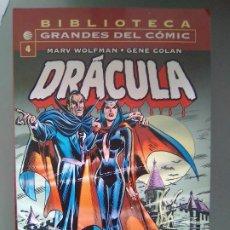 Cómics: BIBLIOTECA GRANDES DEL COMIC - DRACULA 4 / SEV2020. Lote 204357502
