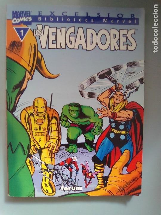 BIBLIOTECA EXCELSIOR -LOS VENGADORES 1 / SEV2020 (Tebeos y Comics - Forum - Prestiges y Tomos)