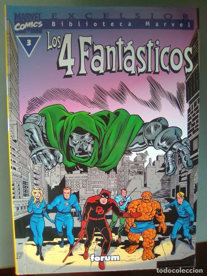 BIBLIOTECA MARVEL EXCELSIOR - LOS 4 FANTASTICOS 3 / SEV2020 (Tebeos y Comics - Forum - Prestiges y Tomos)