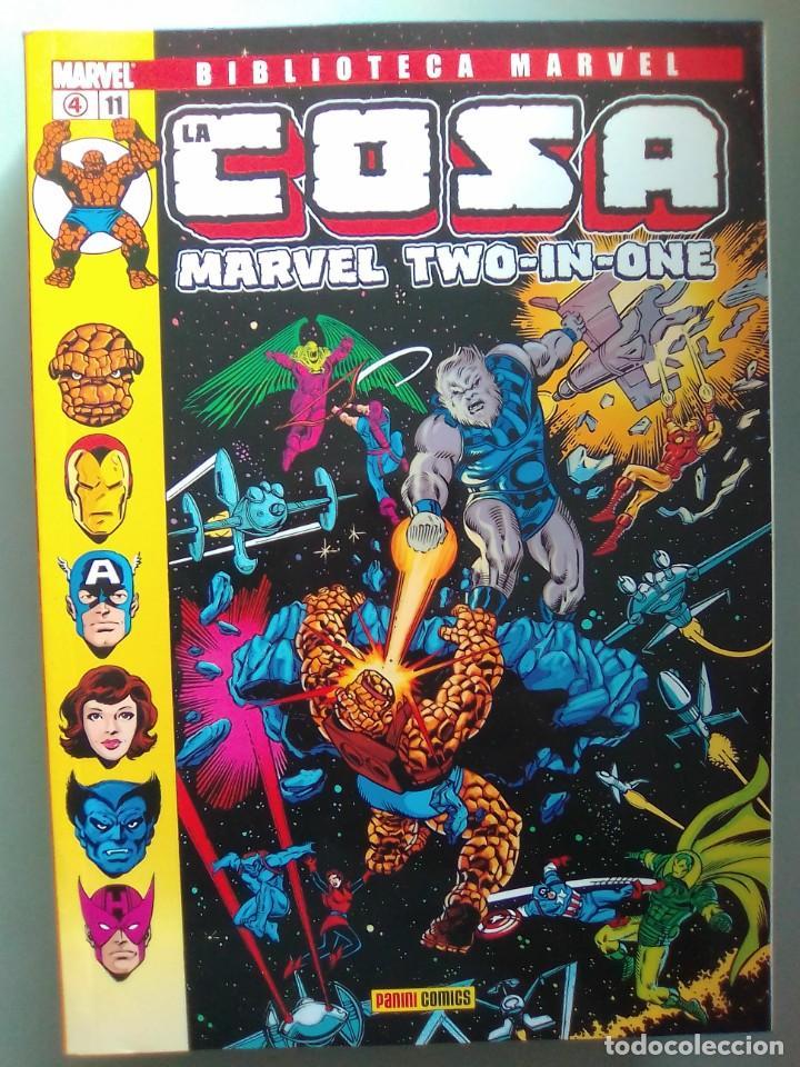 BIBLIOTECA MARVEL EXCELSIOR - LA COSA 11 / SEV2020 (Tebeos y Comics - Forum - Prestiges y Tomos)