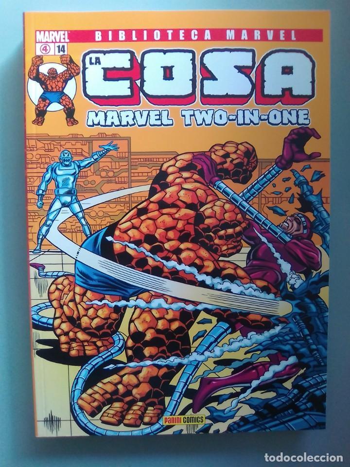 BIBLIOTECA MARVEL EXCELSIOR - LA COSA 14 / SEV2020 (Tebeos y Comics - Forum - Prestiges y Tomos)