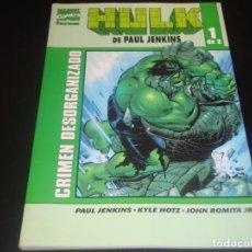 Cómics: HULK DE PAUL JENKINS 1 DE 3. Lote 204364196