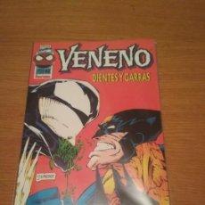 Cómics: VENENO LOBEZNO DIENTES Y GARRAS NO PANINI MARVEL UNIVERSO SPIDERMAN SPIDER MAN ENVIO ECONÓMICO. Lote 204372016