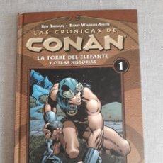 Cómics: LAS CRÓNICAS DE CONAN. TOMO 1. Lote 204414871