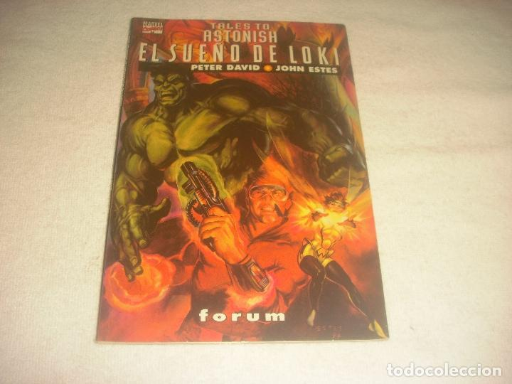 TALES TO ASTONISH . EL SUEÑO DE LOKI . PRESTIGIO N. 5 (Tebeos y Comics - Forum - Prestiges y Tomos)