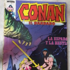 Cómics: CONAN EL BARBARO RETAPADO SIN TAPA NUMEROS 51 A 55. Lote 204471338