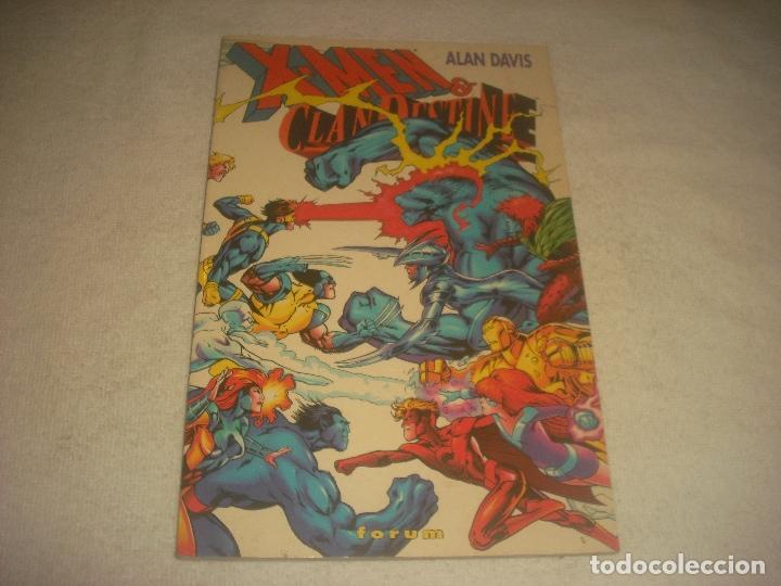 X MEN , CLANDESTINE . TOMO. ALAN DAVIS. (Tebeos y Comics - Forum - Prestiges y Tomos)