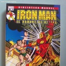 Cómics: IRON MAN EL HOMBRE DE HIERRO 11-BIBLIOTECA MARVEL / PILA 3. Lote 204598228