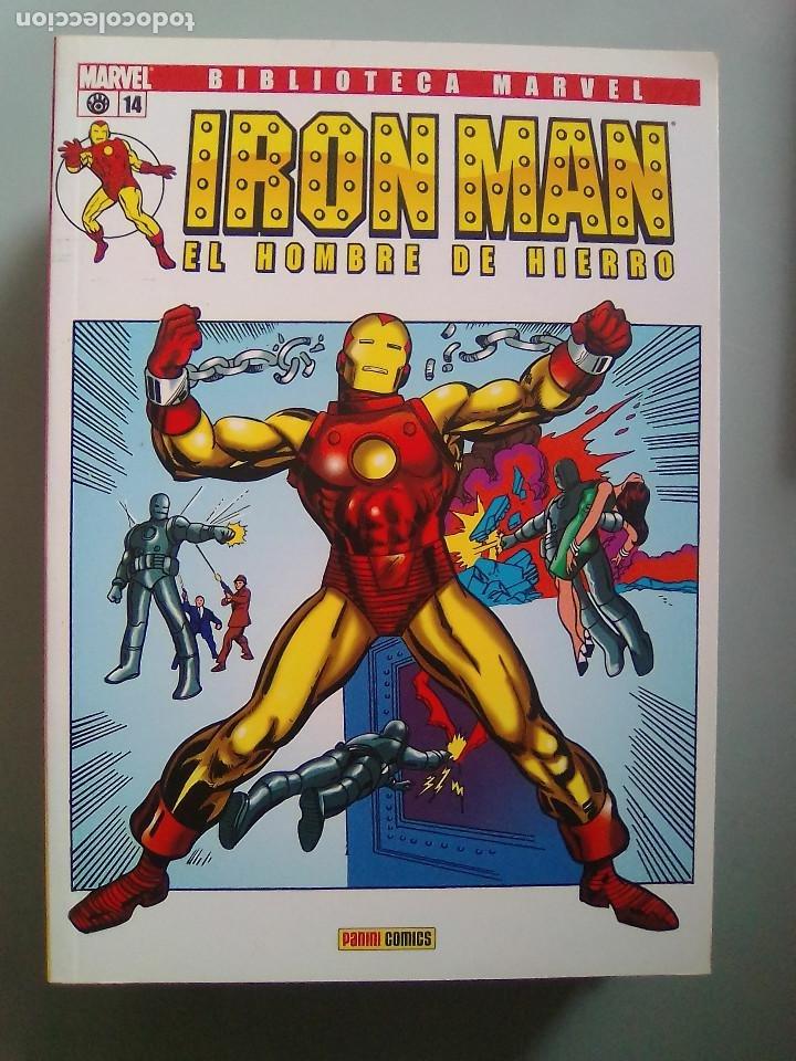 IRON MAN EL HOMBRE DE HIERRO 14-BIBLIOTECA MARVEL / PILA 3 (Tebeos y Comics - Forum - Prestiges y Tomos)