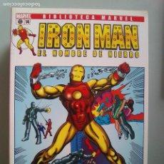 Cómics: IRON MAN EL HOMBRE DE HIERRO 14-BIBLIOTECA MARVEL / PILA 3. Lote 204598785