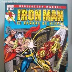 Cómics: IRON MAN EL HOMBRE DE HIERRO 16-BIBLIOTECA MARVEL / PILA 3. Lote 204599062