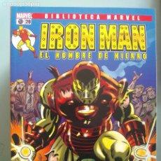Cómics: IRON MAN EL HOMBRE DE HIERRO 20-BIBLIOTECA MARVEL / PILA 3. Lote 204599417