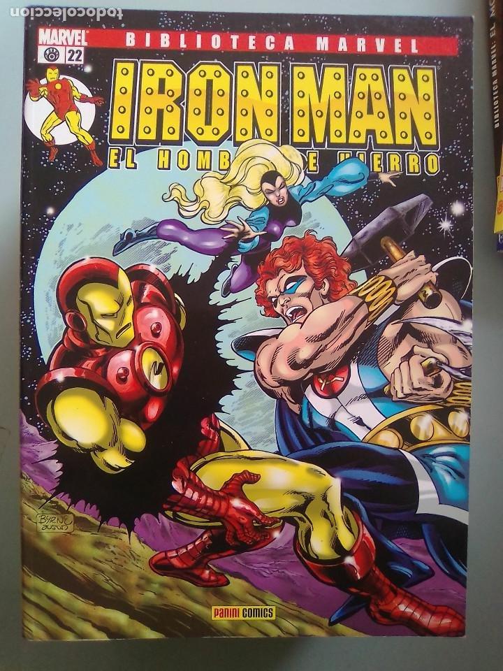 IRON MAN EL HOMBRE DE HIERRO 22-BIBLIOTECA MARVEL / PILA 3 (Tebeos y Comics - Forum - Prestiges y Tomos)