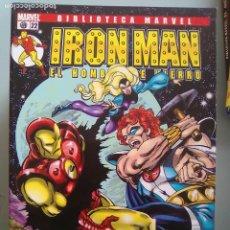 Cómics: IRON MAN EL HOMBRE DE HIERRO 22-BIBLIOTECA MARVEL / PILA 3. Lote 204599568