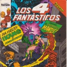 Cómics: CÓMIC MARVEL ^LOS 4 FANTÁSTICOS ´ Nº 91 ED.FORUM 1983. Lote 204624258