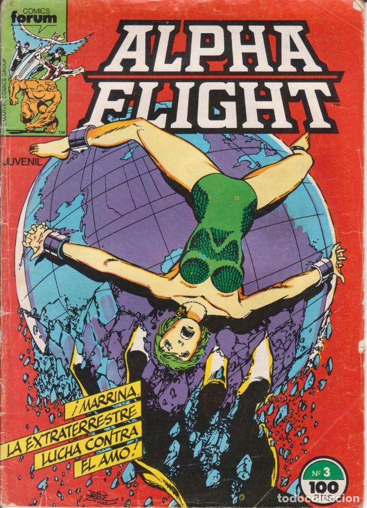 CÓMIC MARVEL ^ ALPHA FLIGHT ´ Nº 3 ED.FORUM 1985 (Tebeos y Comics - Forum - Alpha Flight)