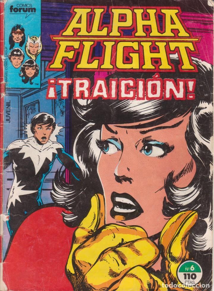 CÓMIC MARVEL ^ ALPHA FLIGHT ´ Nº 6 ED.FORUM 1985 (Tebeos y Comics - Forum - Alpha Flight)