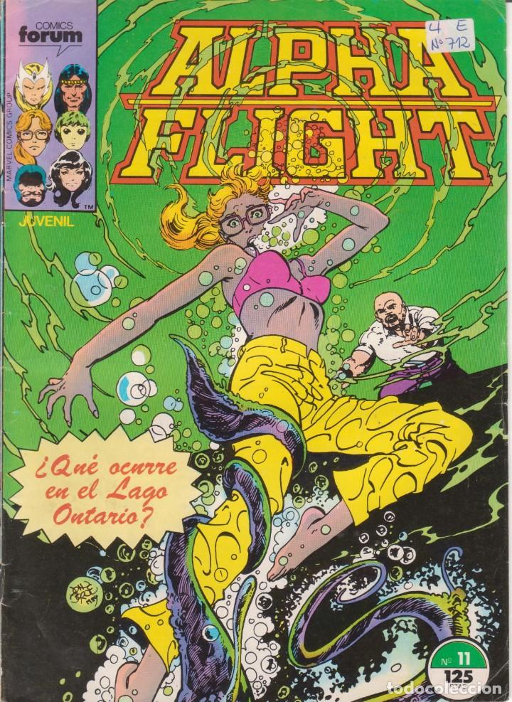 CÓMIC MARVEL ^ ALPHA FLIGHT ´ Nº 11 ED.FORUM 1985 (Tebeos y Comics - Forum - Alpha Flight)