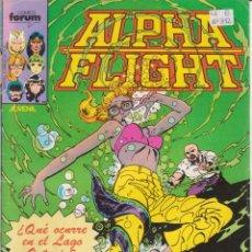 Cómics: CÓMIC MARVEL ^ ALPHA FLIGHT ´ Nº 11 ED.FORUM 1985. Lote 204625263