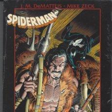 Cómics: SPIDERMAN LA ULTIMA CACERIA DE KRAVEN - TOMO OBRAS MAESTRAS - A ESTRENAR !!. Lote 235643840