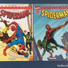 Cómics: SPIDERMAN - BIBLIOTECA MARVEL - 2 NÚMEROS: 1, Y 3 - FORUM. Lote 204719635