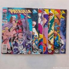Cómics: 7 MARVEL COMICS. FORUM. PATRULLA X. NOS. 112, 113, 114, 117, 118, 119, 129.. Lote 204803510