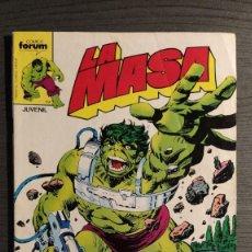 Cómics: LA MASA Nº 26. FORUM. Lote 204815197
