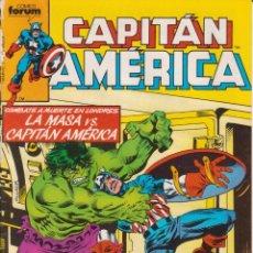 Cómics: CÓMIC MARVEL ` CAPITÁN AMÉRICA ´ Nº 17 ED.FORUM 1985. Lote 204824558