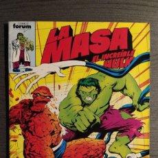 Cómics: LA MASA EL INCREÍBLE HULK Nº 30. COMICS FORUM.. Lote 204833361