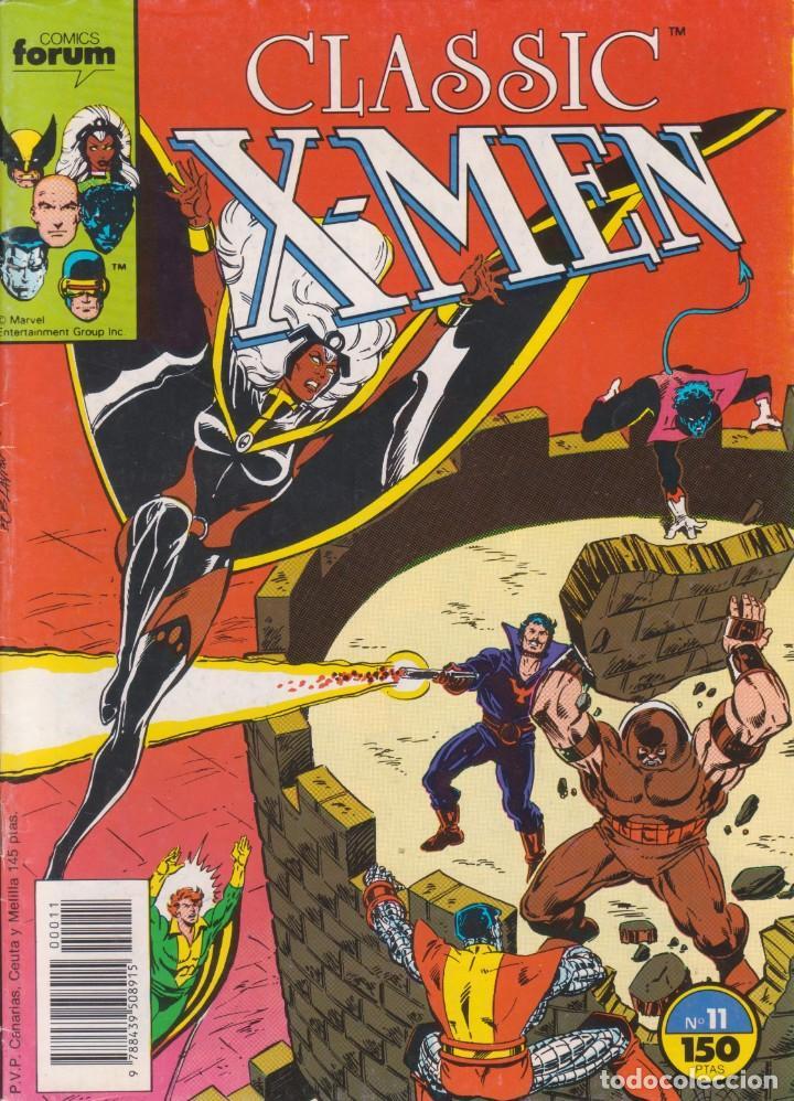 CÓMIC MARVEL ` CLASSIC X-MEN ´ Nº 11 ED.FORUM 1988. (Tebeos y Comics - Forum - Patrulla X)