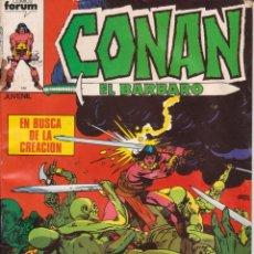 Cómics: CÓMIC MARVEL ` CONAN EL BÁRBARO ´ Nº 41 ED.PLANETA / FORUM. Lote 204840901