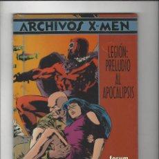 Cómics: ARCHIVOS X-MEN LEGION PRELUDIO AL APOCALIPSIS PRECINTADO !!. Lote 204968435