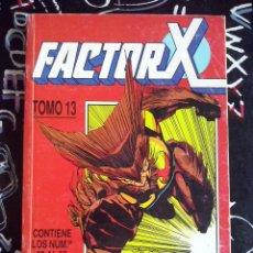 Cómics: FORUM - FACTOR-X RETAPADO TOMO 13 CON LOS NUM. 60 AL 65 . BUEN ESTADO .. Lote 204979073
