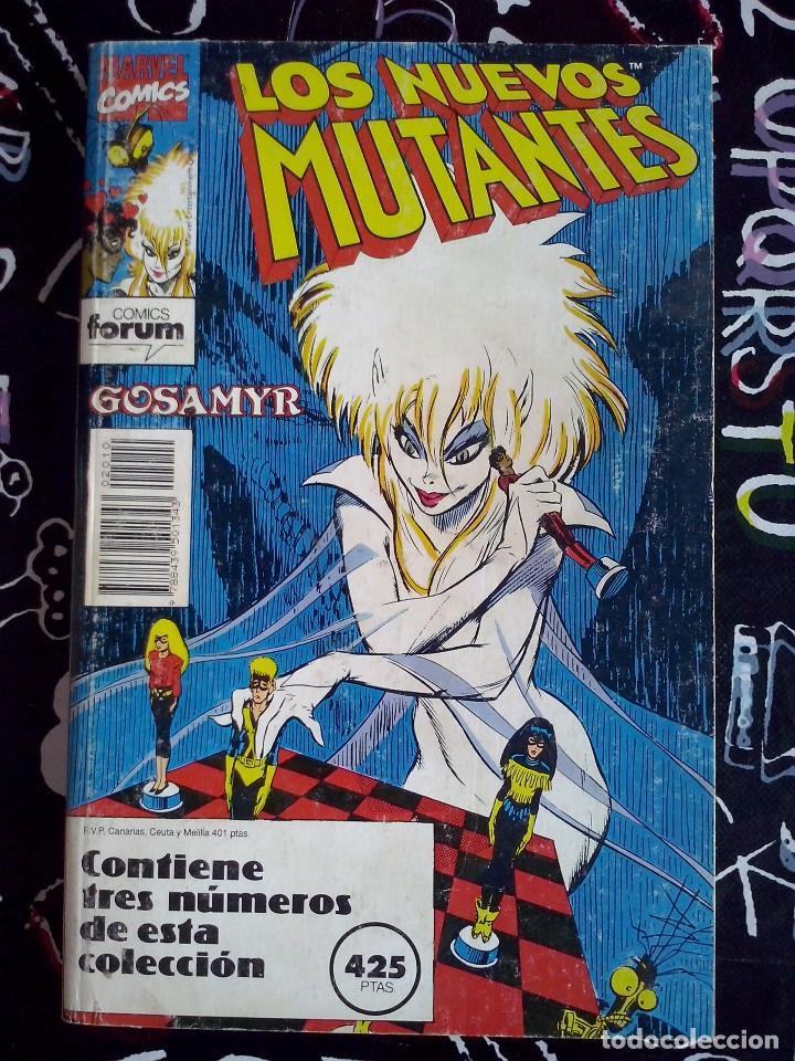 FORUM - NUEVOS MUTANTES RETAPADO VOL.1 CON LOS NUM. 55 AL 57 . BUEN ESTADO (Tebeos y Comics - Forum - Nuevos Mutantes)